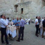Orthomanufacture : Repas et convivialité autour du thème des implants à Yverdon-les bains en suisse.
