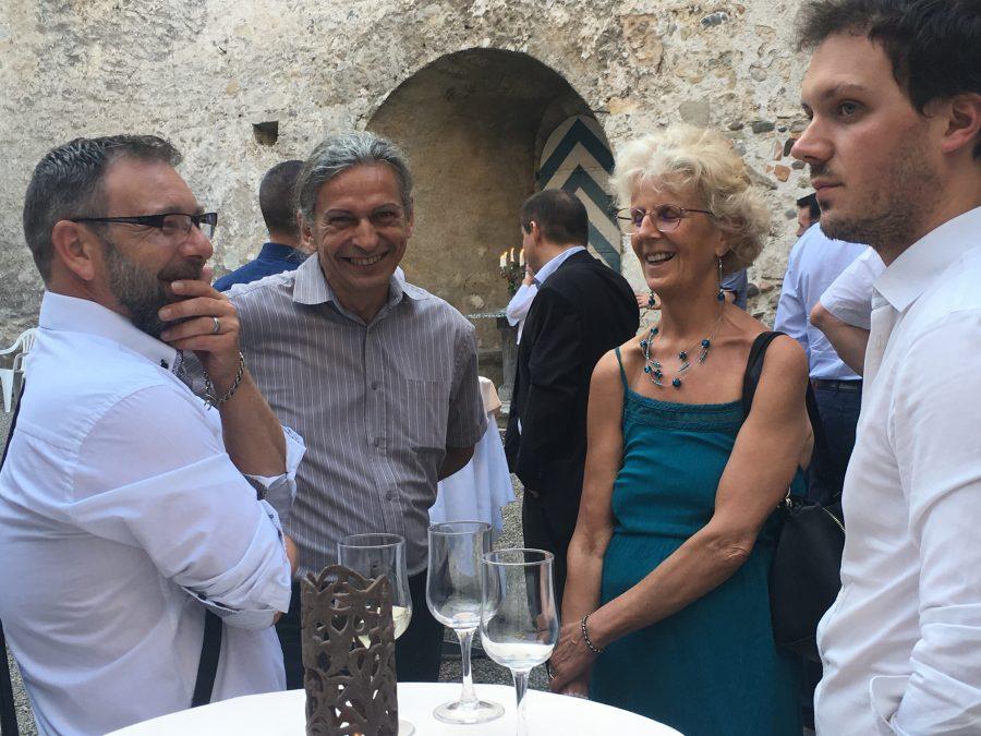 Château de Grandson et Orthomanufacture : Discussion et moments conviviaux atour du thème des implants.